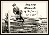 blogging and fence