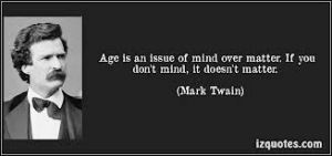 mark twain mind and matter