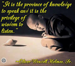 wisdom to listen