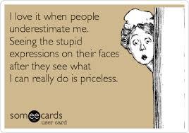 Underestimating