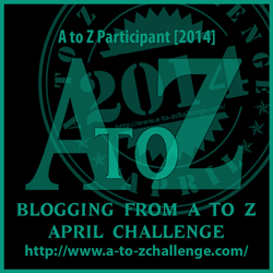 A to Z Participant Badge