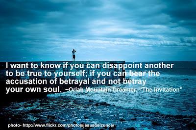 Handling betrayal