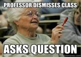 mature age student meme