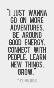 yearn for adventure