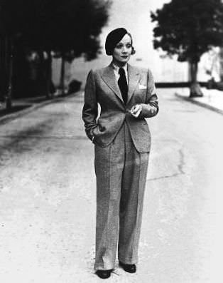 Marlene-Dietrich-wearing-her-trademark-mens-suit